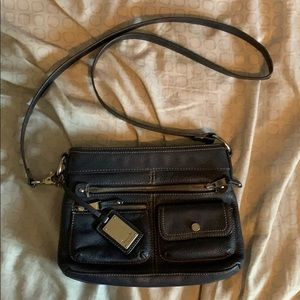 Navy Blue Crossbody Bag